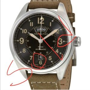Hamilton Khaki Field. Only serous Offers